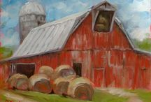 barns / by Polly Groves