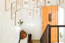 Entryway/Foyer / by Shavonda Gardner {AHomeFullOfColor}