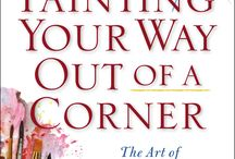 PAINTING YOUR WAY OUT OF A CORNER / In the tradition of The Artist's Way, Barbara Diane Barry offers an exciting program that introduces painting as a jumping-off point for realizing one's full creative potential in all areas of life. Out from Tarcher Books January 16, 2014! / by TarcherBooks