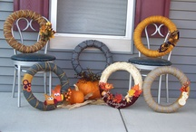Fall decorations / by Allie Neff