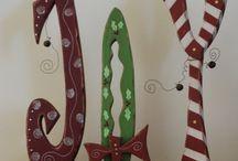 Wooden Door Hangers / by Junkin' J