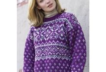 Sweater Knitting Patterns / Sweater patterns I have finished or are on my to do/wish list. / by Nancy Thomas