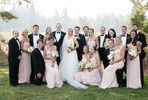Blush & Black Wedding / by The American Wedding