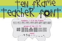 Classroom Ideas FONTS / by Jen Loris