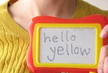 """""""Hellow"""" Yellow!! / by Laurie"""