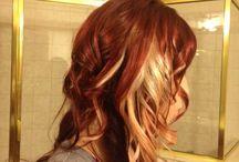 Hair color / by Elaine Blaisdell