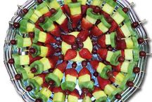 fruit trays... / by Faysbuk Forcoupons