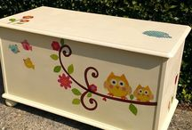 toy box up cycle / by Stephanie Packer-Henderson