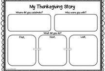 Thanksgiving Unit / by Allyssa Sharpe