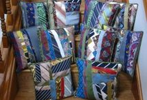 Upcycled ties / Even ugly ties can be part of something beautiful.   / by Mary Wade
