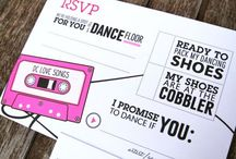 Wedding - Invitations/Save the Date/RSVP / by Kristy Eedens