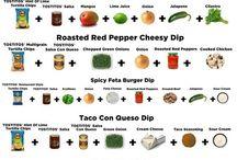 Farm-grown Recipes Dips & Salsas / by Patterson Farm,