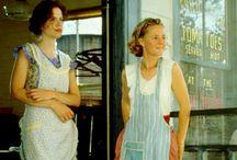 I love aprons! / Aprons remind me of both my grandmas. / by Brenda Refsland