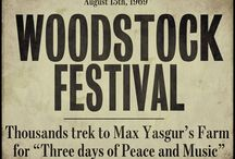 Woodstock 1969 / I had the unique priviledge of going to Woodstock at age 17.  I saw an advertisement in the paper for a Magic Bus to Woodstock leaving at midnight from Baltimore.  The rest is history... / by David Holdefer