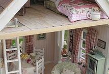 Dollhouses & Dolls & Toys & Little Bitty Mini things / by Debbie Jennings Hewitt