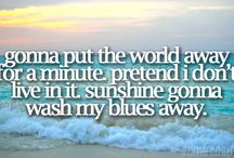 Song lyrics / by Pam Griggs