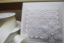 cards white on white / by Gail Gale