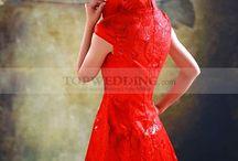 Китайский халат для невесты / by Topwedding