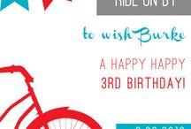 3rd birthday! / by Robin Extance