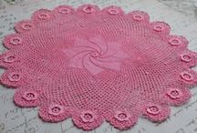 I love to crochet doilies / by Ginger Grahn