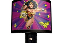 Superhero Night Lights / by SimplySuperheroes.com