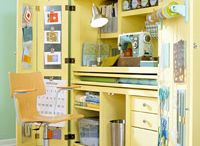 Quilt & Craft Studio Ideas / by Kathleen Melikian
