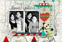 Layout Inspiration - 2 photos / by Clever Monkey Graphics