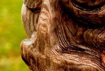 TOTEMS / by Didier MAURIO - Sculpteur AVEC le Bois