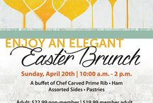 Easter Brunch! / Enjoy an elegant Easter Brunch at the Figge Art Museum, with a view of the Mississippi River as your backdrop. After your meal, browse the unique merchandise in the Museum Store, or talk with a docent for an informal exhibition tour.  / by Figge Art Museum