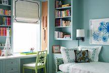 guest bedroom/hobby room / by Ashley Verhagen