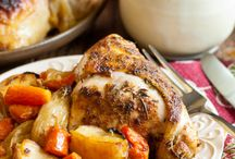 chicken dinner / by Robin Hartway