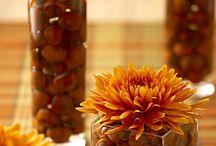 Centerpieces, mantles, tabletops, shelves... / by Debbie Basham
