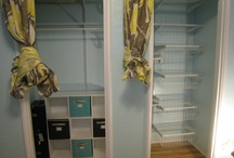 Closets & Organized Spaces / by Robyn Patterson