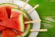 Summer foods for kids / Foods on a stick  / by Donna Ramos