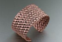 handmade copper cuff / by Diana Lenn