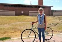 Bike Chic / Bike Chic is a DPJ series by Fashion intern Cortney Kaminski. Each week she will be scouting locals who not only ride their bikes, but look dapper doing it. / by Downtown Phoenix Journal