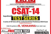 Civil Service Aptitude Test-2014 / by Ims New Delhi