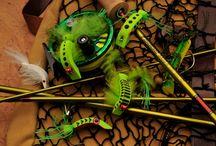 flys to tie / by Tim Stamper