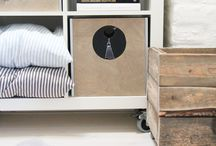 Storage ideas / by Catherine Lazure-Guinard | Nordic Design