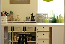 For the home--Craft Room / by Doretta Leikam Wright