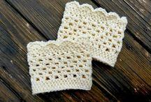 Crochet Boot Cuffs / by Patty Boren Melson