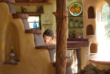 Cob/Strawbale house / by Alex Loff