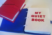DIY- Quiet book / There are those time that you need a little peace and quiet... / by Piper Hoskins