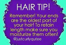 HAIR TIPS / by Mavis Wiggins