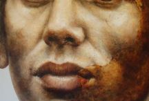 Painted Faces / People who exist on canvas yet speak to us.  / by Luke Ducray
