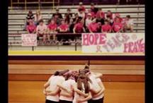 Dig Pink Volleyball Game! / by Cassie Konkol