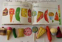 Felt Food Ideas/Tutorials / by Clara Alexander-Fennell