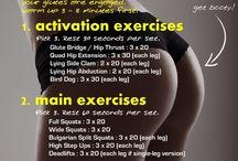 Butt workouts / by Ana Sosa