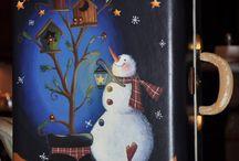 Snowmen / by Tina Ball