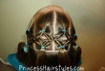 Hair ideas for Bug / by Michelle Averett